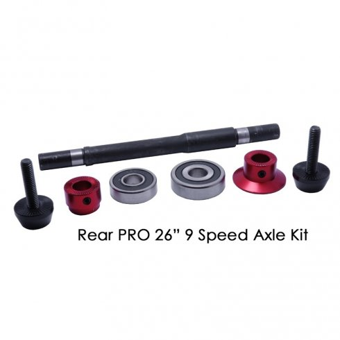 "DMR Pro 26"" Wheel Rear Axle Kit"