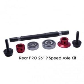 """Dmr Pro 26"""" Wheel Rear Axle Kit"""