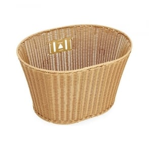 Electra Plastic Wicker Front Basket
