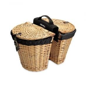 Electra Wicker w/ Liners Rear Basket