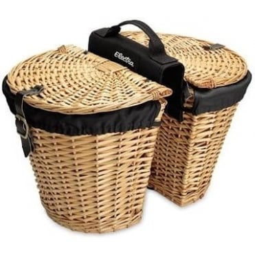Wicker w/ Liners Rear Basket