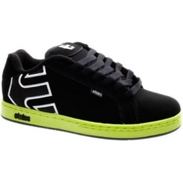 Fader BMX Shoes - White/Black/Green
