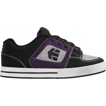 Etnies Kids Ronin BMX Shoes - Black/Grey/Black
