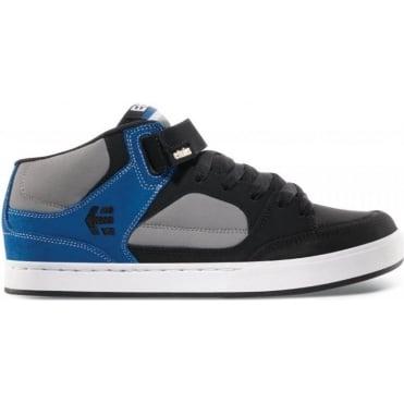 Etnies Number Mid BMX Shoes - Black/Grey/Blue