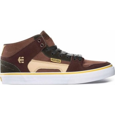 Etnies Sergio Layos Sanchez RVM 2 BMX Shoes - Brown/Tan/White