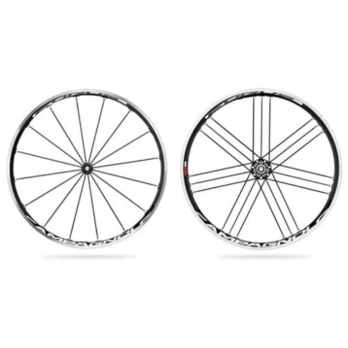 Campagnolo Eurus 2 Way Black Wheelset