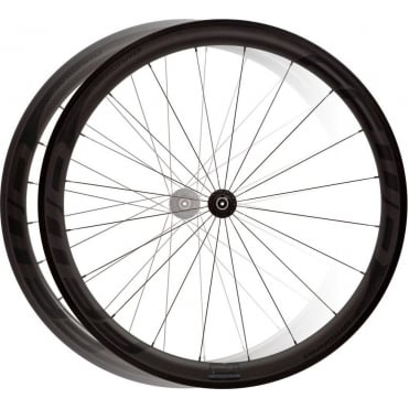 F4R Full Carbon Clincher DT240 Black Edition Wheelset
