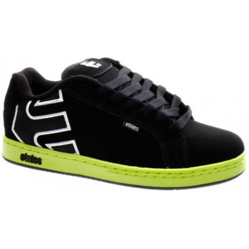 Etnies Fader BMX Shoes - White/Black/Green