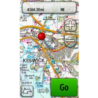 Garmin Discoverer Topographical Mapping 1:50k - North England / Wales