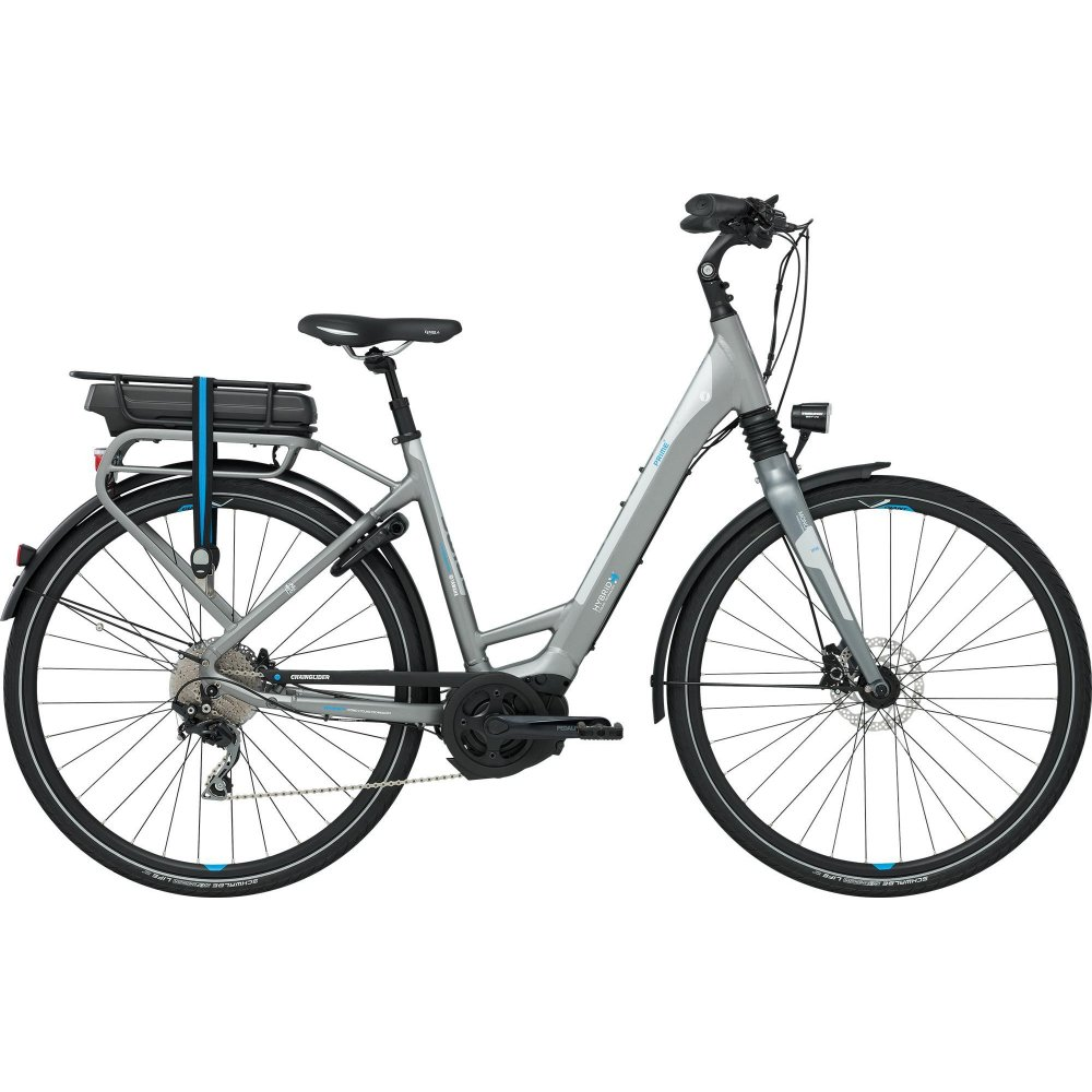 giant prime e 2 women 39 s electric hybrid bike 2016. Black Bedroom Furniture Sets. Home Design Ideas