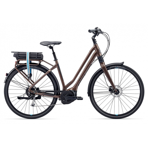 Giant Prime-E+3 Women's Electric City Bike 2017