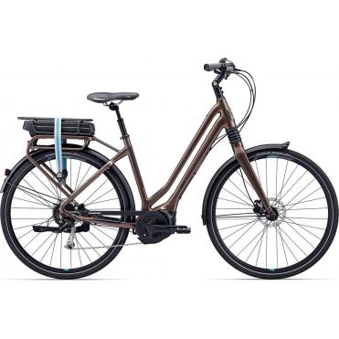 Giant Prime-E+3 Women's Electric City Bike 2017