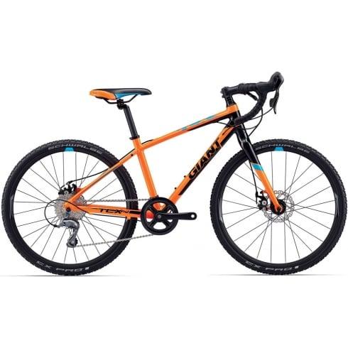 "Giant TCX Espoir 24"" Kids Cyclocross Bike 2017"