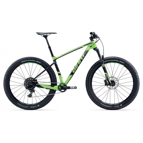 Giant XTC Advanced +2 Mountain Bike 2017