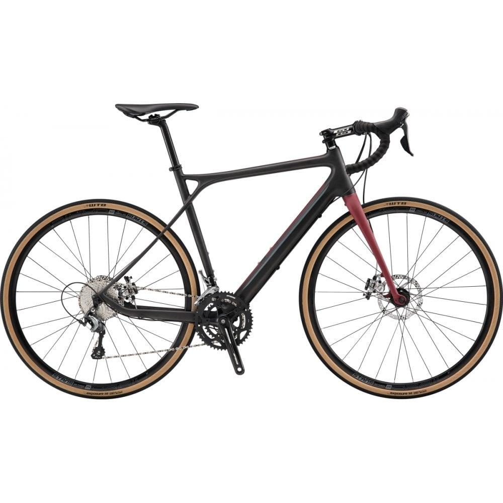 gt grade carbon elite gravel road bike 2019 triton cycles. Black Bedroom Furniture Sets. Home Design Ideas