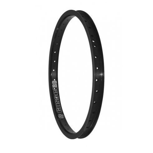 "Gusset Black Dog 20"" Rim"