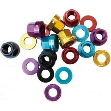 Halo Alloy Axle A-Nuts