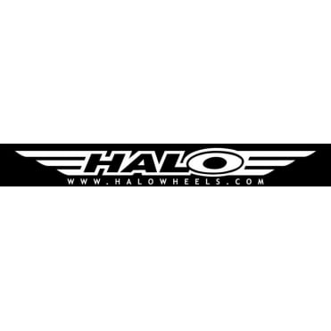 Halo Extra large Van Decal XL - Black