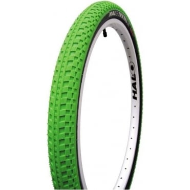 Halo Green Twin Rail II 26x2.2 Tyre