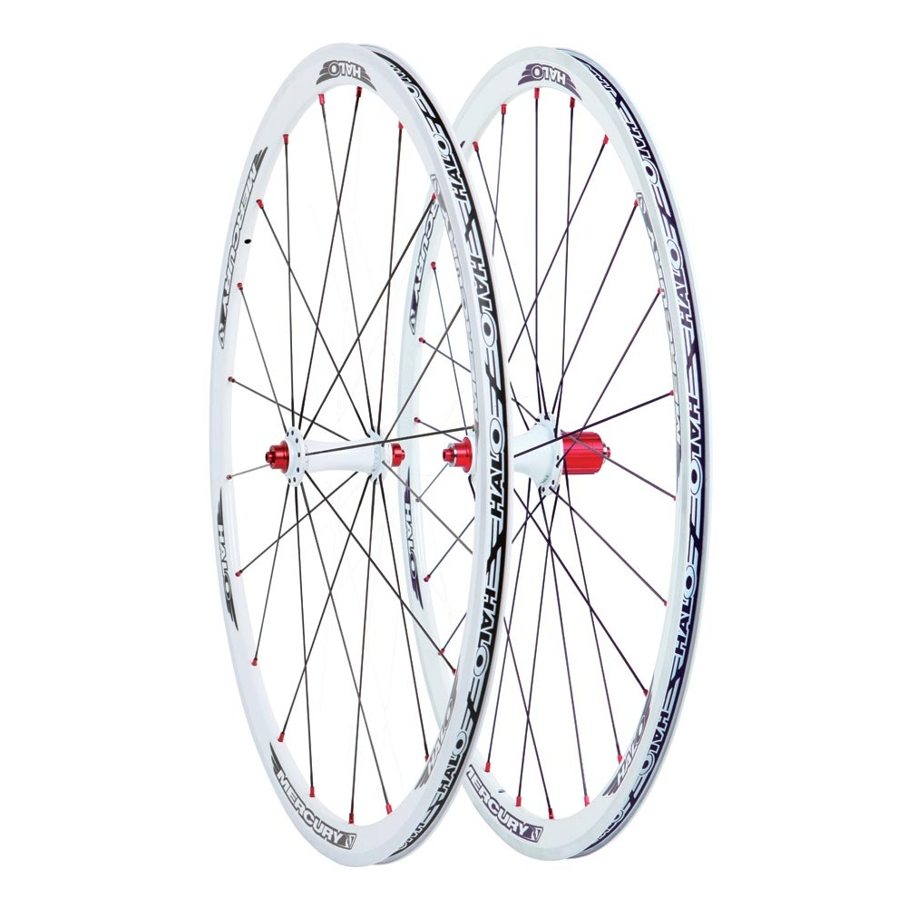 945301d2573 Halo Mercury 6D 700c Road Front Wheel | Triton Cycles
