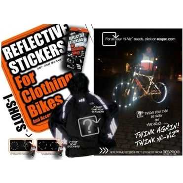 Hump I-Shot Reflective Sticker Kit For Tyres