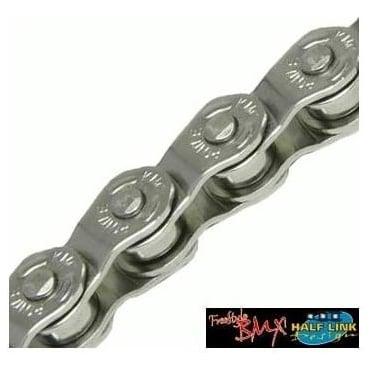Kmc HL710 Silver Half Link BMX Chain 100L
