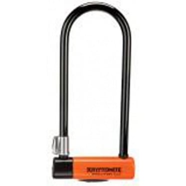 Kryptonite Evolution Series 4 Long Shackle U-Lock with FlexFrame Bracket