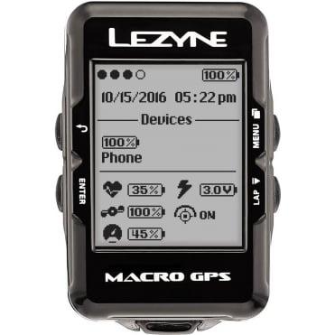 Lezyne Macro Navigate GPS Cycle Computer