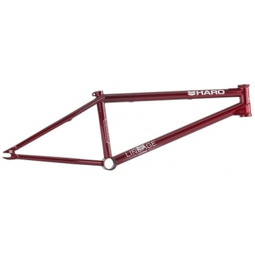 Lineage Candy Red BMX Frame