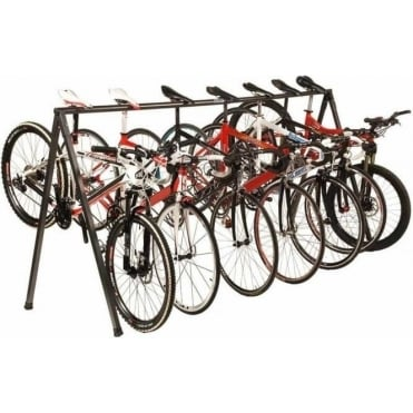 Many Bicycles Race Stand
