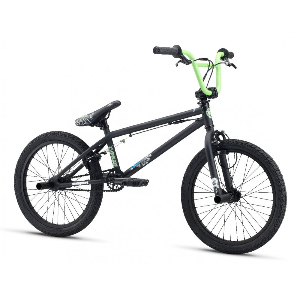 mongoose capture bmx bike 2013 black triton cycles. Black Bedroom Furniture Sets. Home Design Ideas