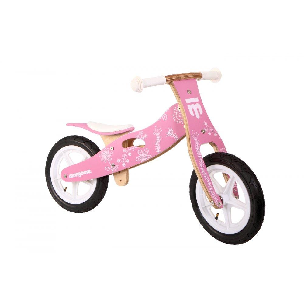 Mongoose Girls Balance Bike Triton Cycles