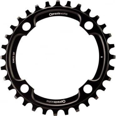 MTB 1x 104BCD Wave Tech Chainring