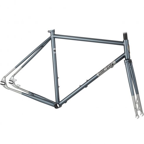 All City Nature Boy CX Disc Frameset - Silver/Dilver