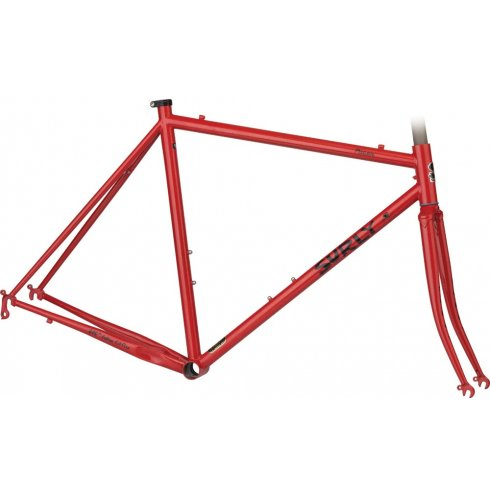 Surly Pacer Frameset - Disco Tomato