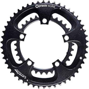 Praxis Works Compact 110BCD Chainring - Black2Tone