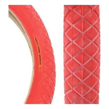 "Primo The Wall 20"" x 1.85"" BMX Tyre - Red"