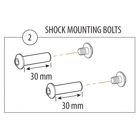 Cannondale Rize Shock Mounting Hardware