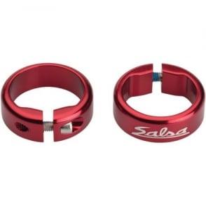 Salsa Lock-On Collars - Open End