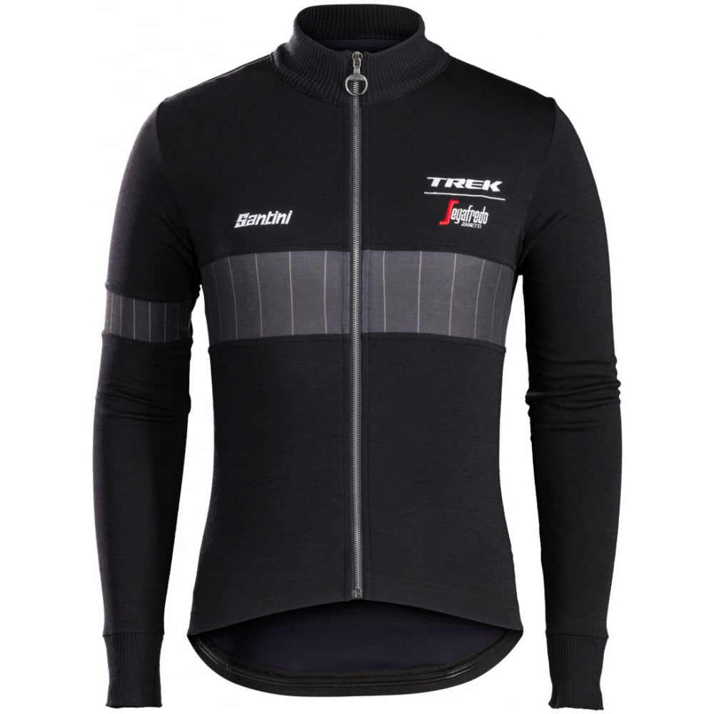 Santini Trek-Segafredo Icon Wool Long Sleeve Jersey  313272dfd