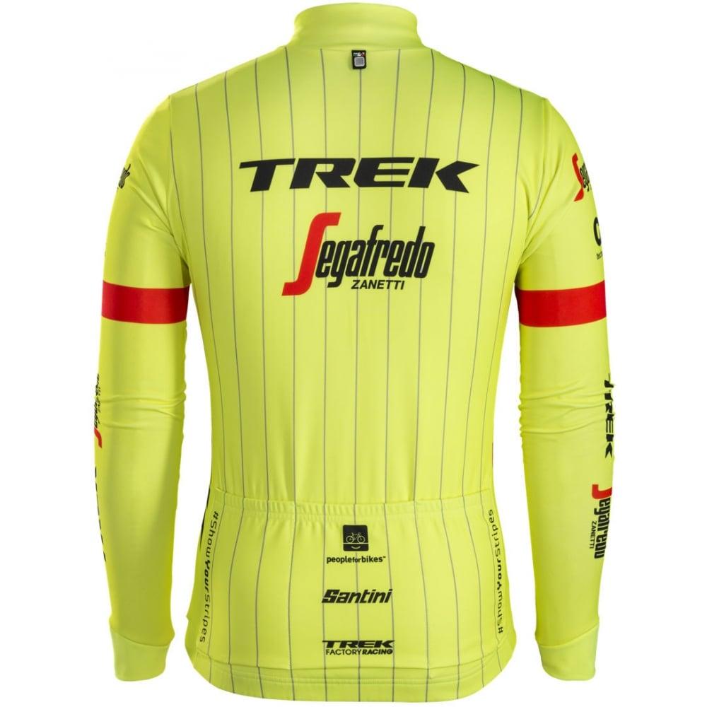 Santini Trek-Segafredo Team Thermal Long Sleeve Jersey  44df4c6a0