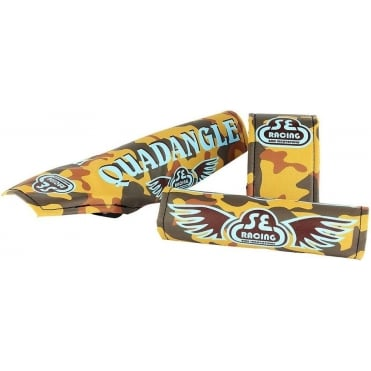 Quadangle BMX Retro Padset - Camo