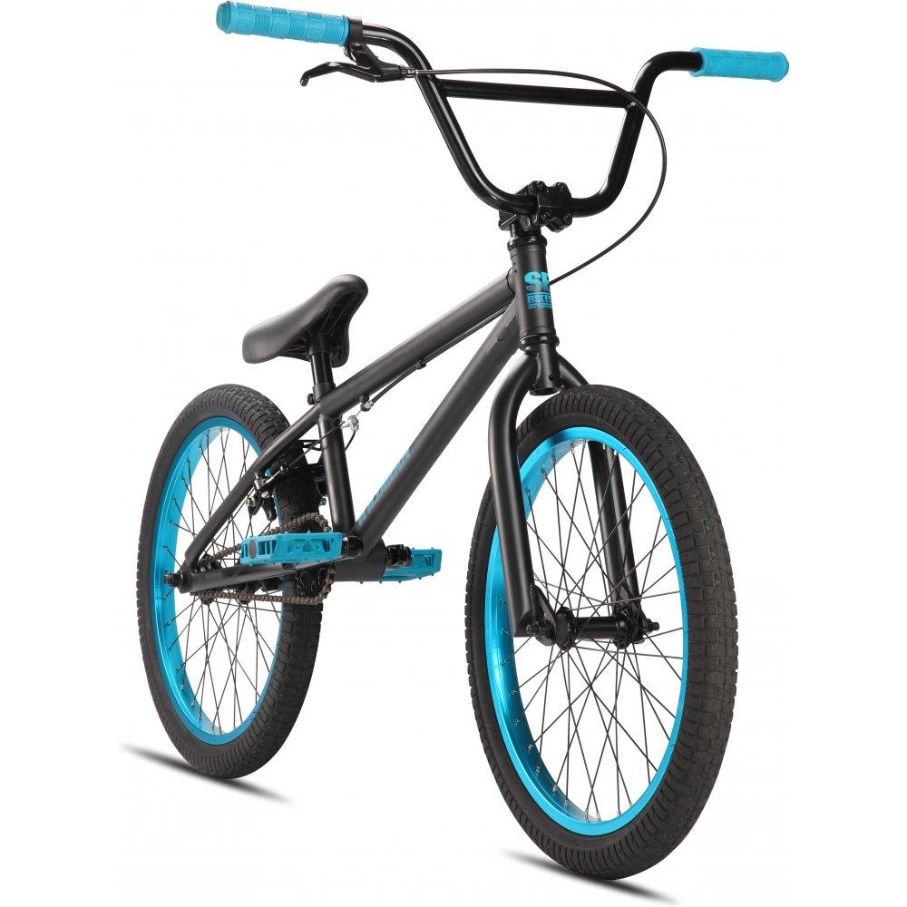 SE Wildman BMX Bike 2013 - Black/Blue | Triton Cycles