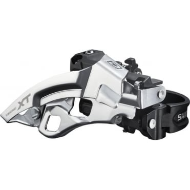 FD-M780-A XT 10-Speed Triple Front Derailleur - Top Swing - Dual-Pull