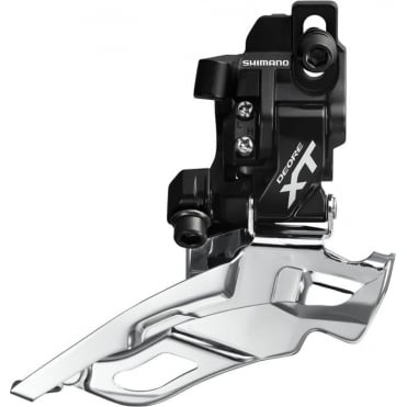 Shimano FD-M781-A XT 10-Speed Triple Front Derailleur - Direct-Fit - Dual-Pull