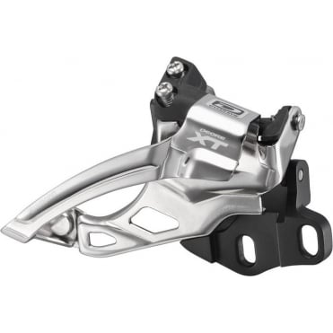 FD-M785 XT 10-Speed Double Front Derailleur - E2-Type for 38-40T - Dual-Pull