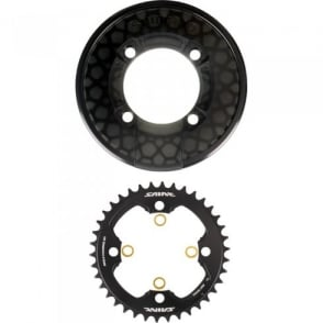 Shimano SM-CR81 Saint Chainring and Bash Guard without Fixing Bolts