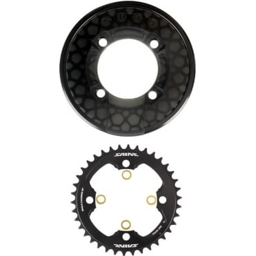 SM-CR81 Saint Chainring and Bash Guard without Fixing Bolts