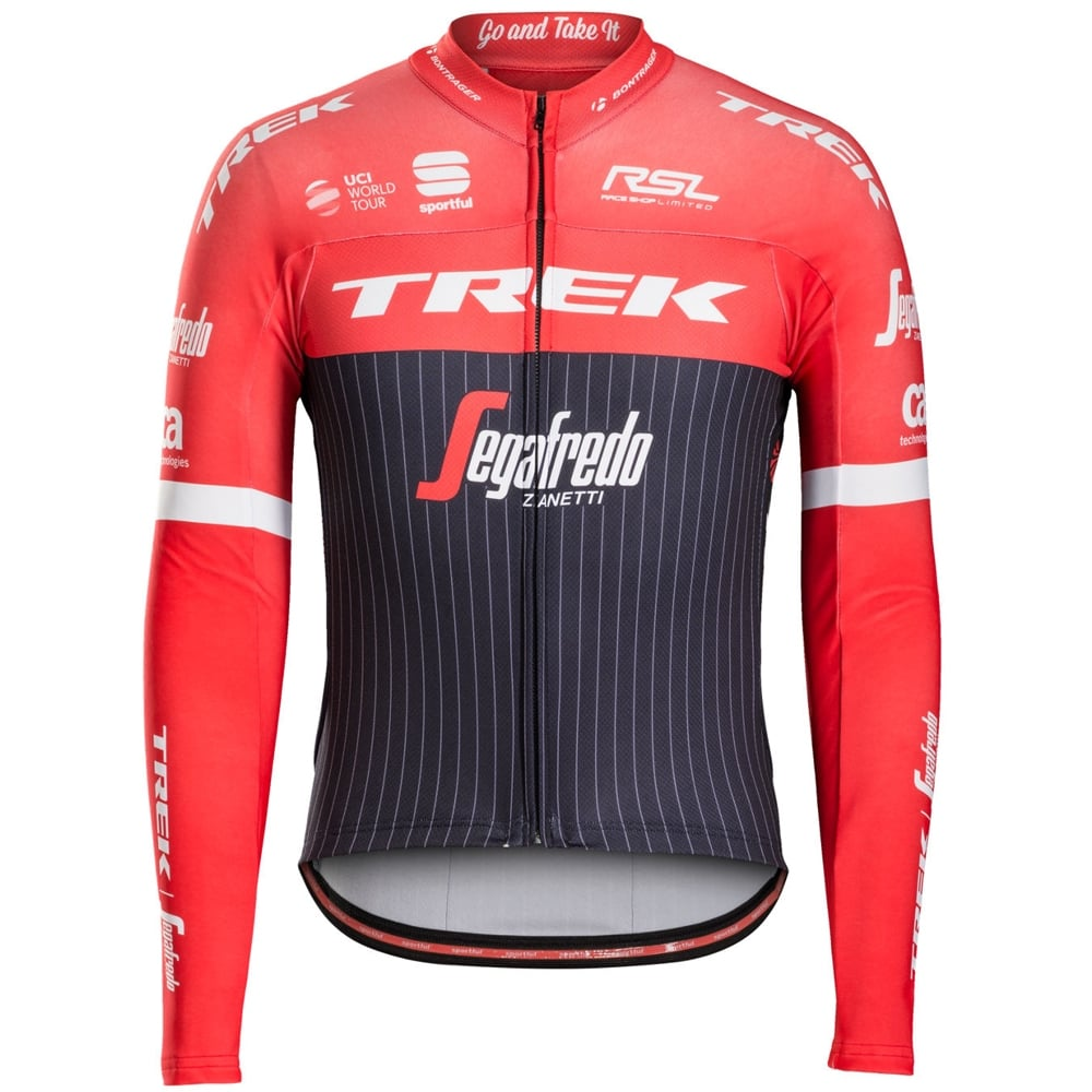 Sportful Trek-Segafredo Pro Thermal Jersey  5cccbbe0a