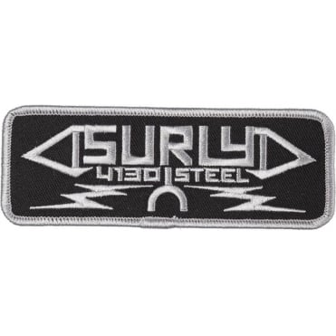 Steel Oblong Iron-On Patch